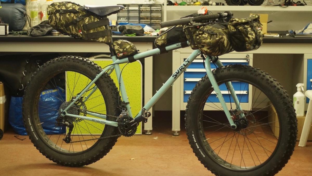 Představení bikepacking sady Acepac