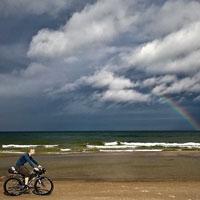 Surly rowery na pobřeží Baltu