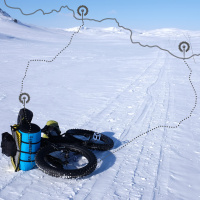 Zimní Hardangervidda
