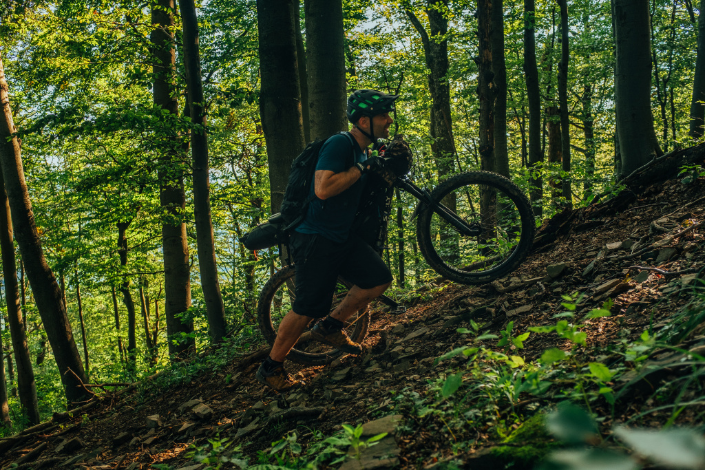 jan zdansky bikepacking