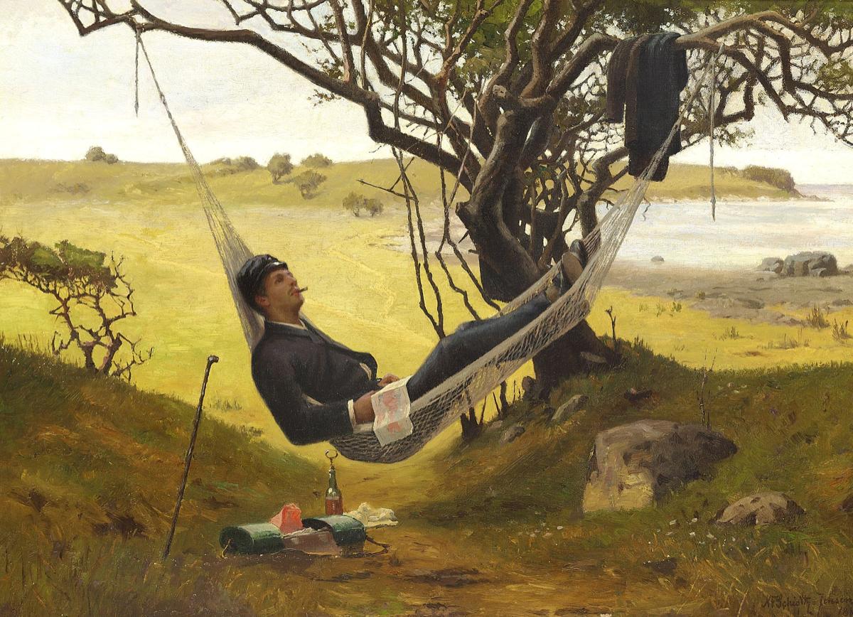 1885 - Odpolední odpočinek, Niels Frederik Schiøttz-Jensen