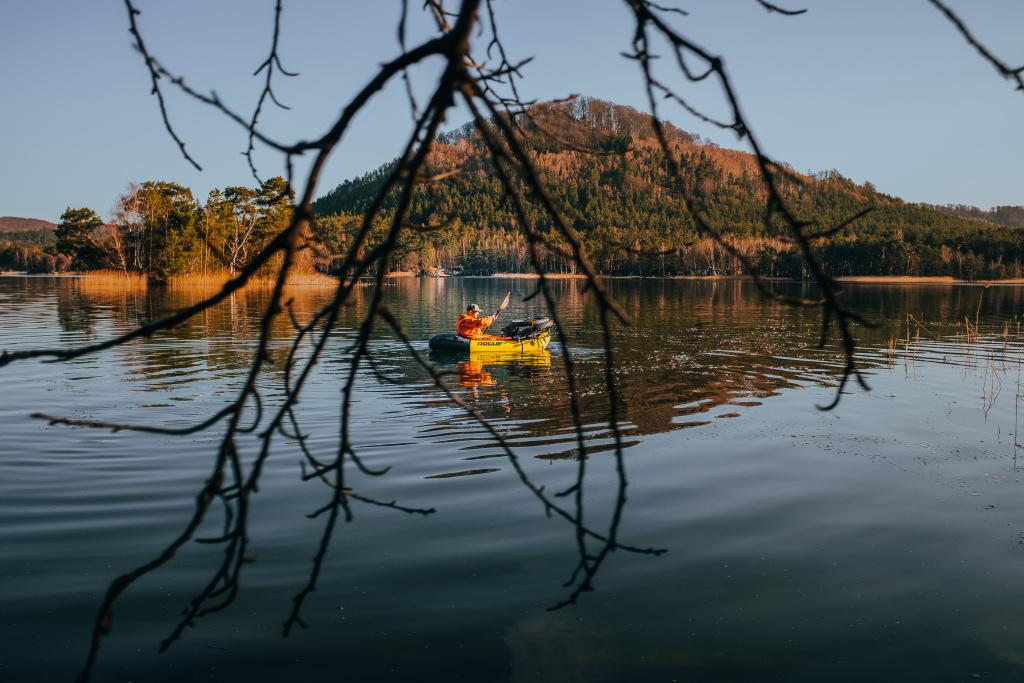 machovo jezero borny